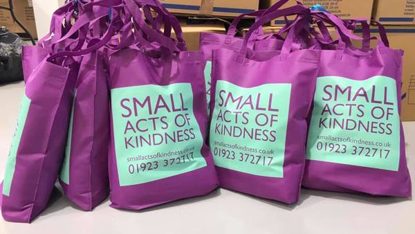 Bags of Kindness Packing Days