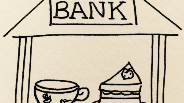Join us for Tea and Cake at the Bank